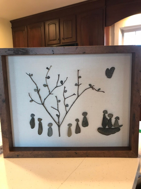 Niños Niños Pebbles pintura conjunto de arte y artesanía pintura Su Propio Kit de guijarros Regalo