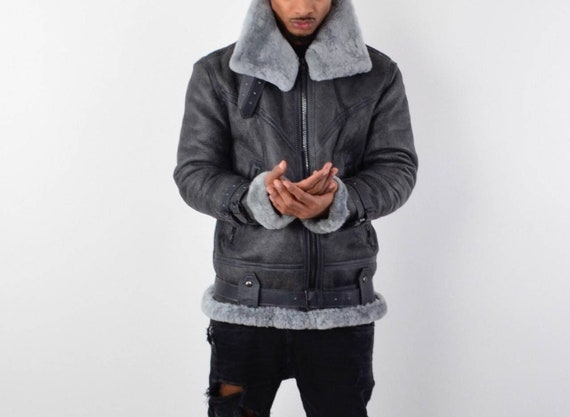 Shearling Flying Jacket