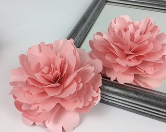 Peony Paper flower template - SVG paper flower - SVG flower - 3d flowers