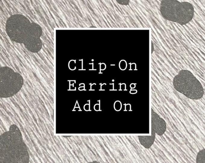 Clip-on Earring Add On