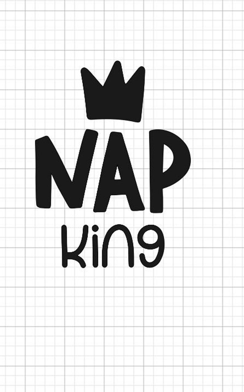 ADD-ON Nap king Nap king iron-on Nap king dog bandana