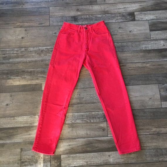 Vintage Red Guess Jeans - image 2