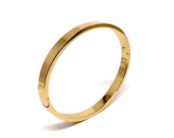 857f0153e 18k gold filled bangle bracelet / wide gold bangle / gold bracelets for  women / bangle bracelet