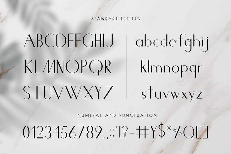 Modern Commercial Use Font Classy Sans Serif Font