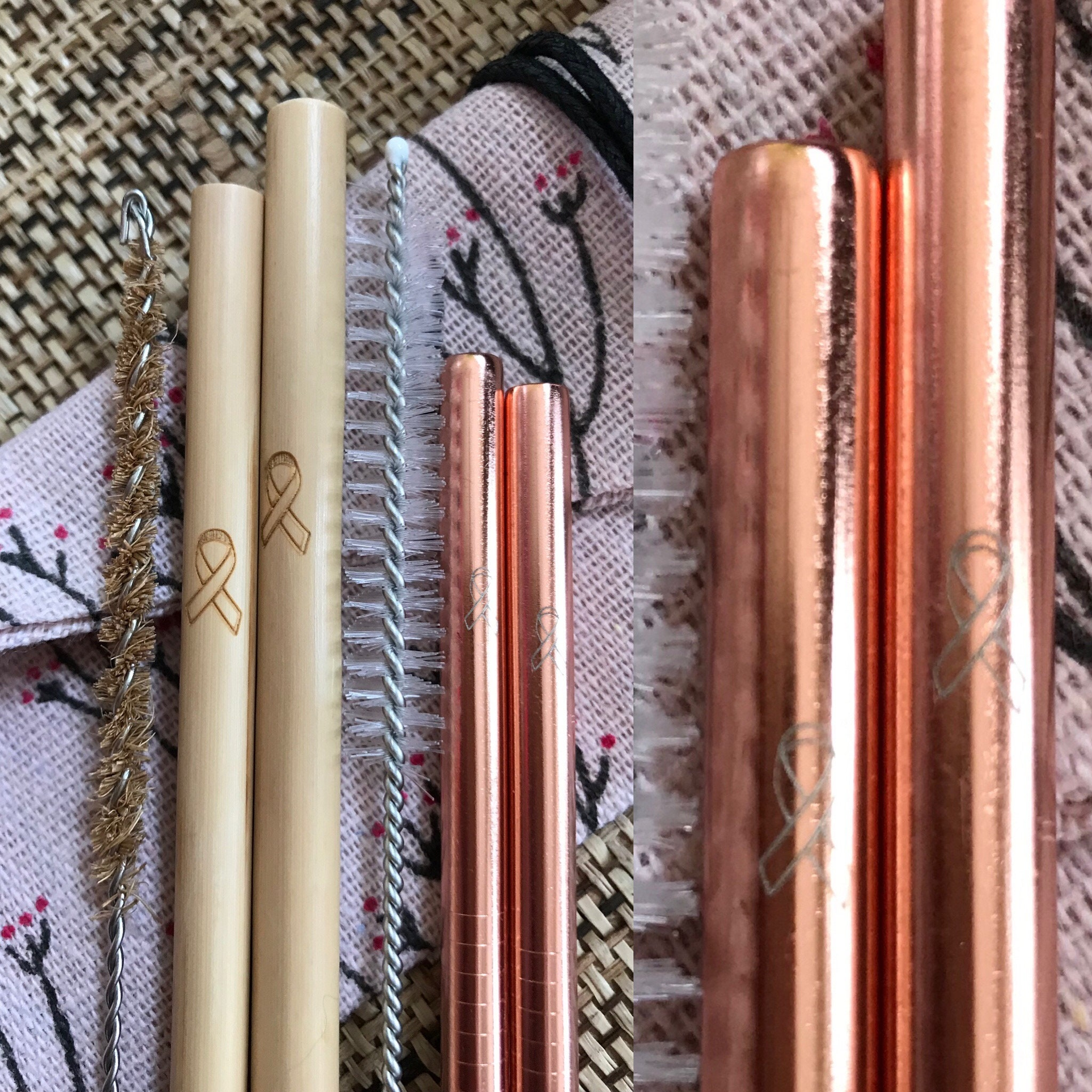 Bulk Reusable Straws ~ Stainless Steel Straws - Metal Straws