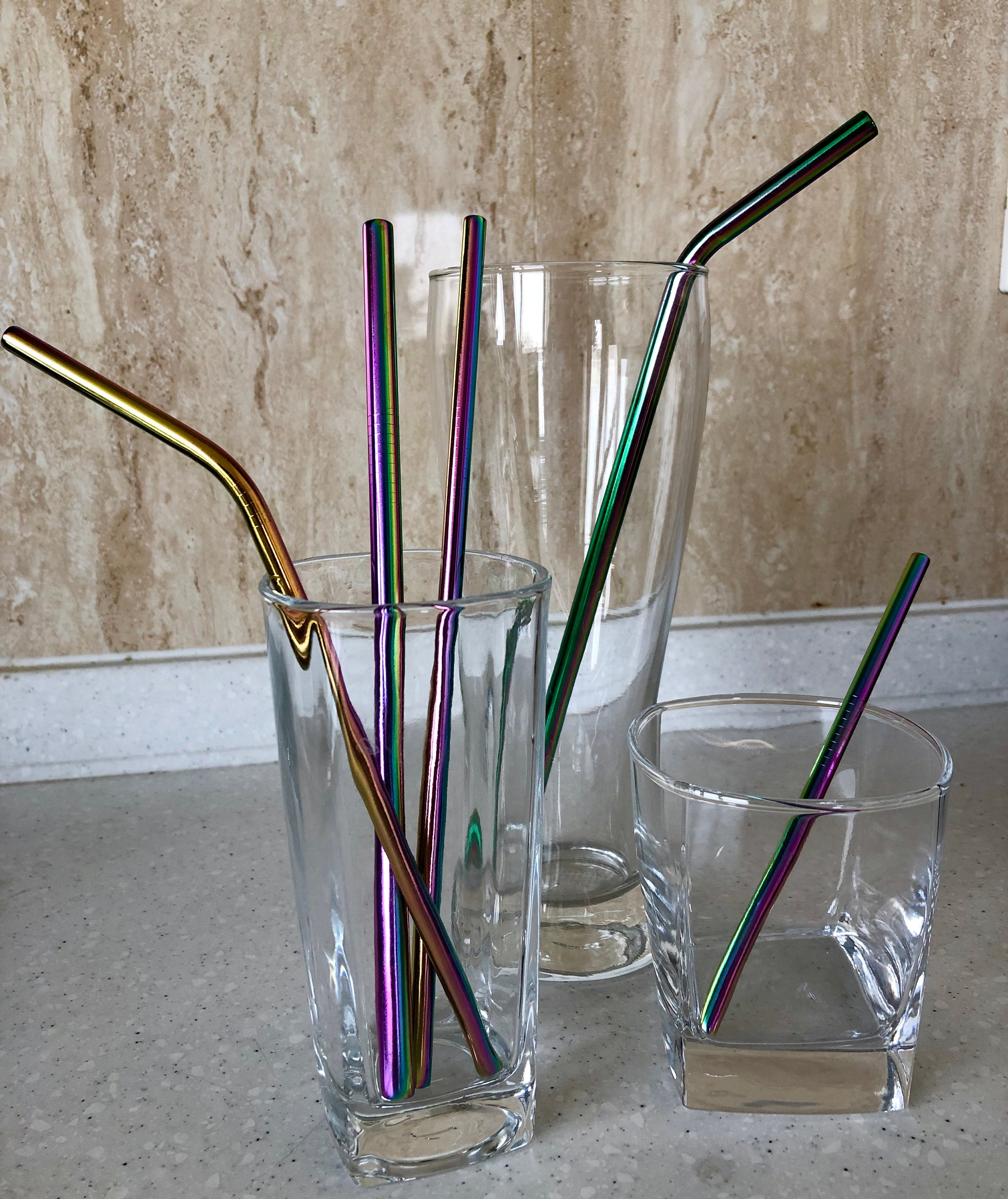 FREE SHIPPING to US - Stainless Steel Straws - Metal Straws