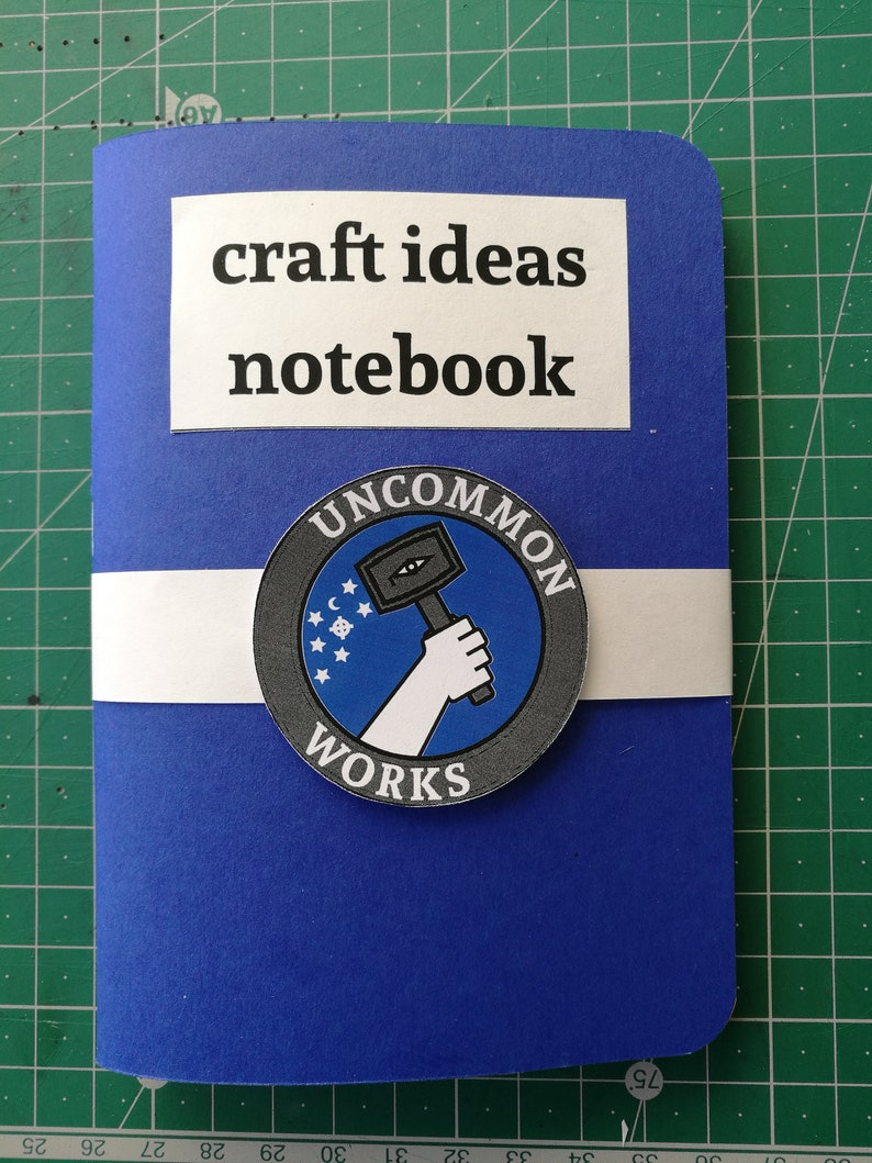 Craft Ideas Notebook with Prompts and Exercises for your image 0