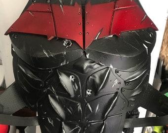 Red Hood/Batman chest piece