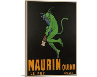 MAURIN QUINA 1906 Absinthe Advertising Giclee Poster or Canvas Print 18x24