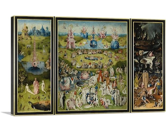 The Garden of Earthly Delights Triptych Hieronymus Bosch