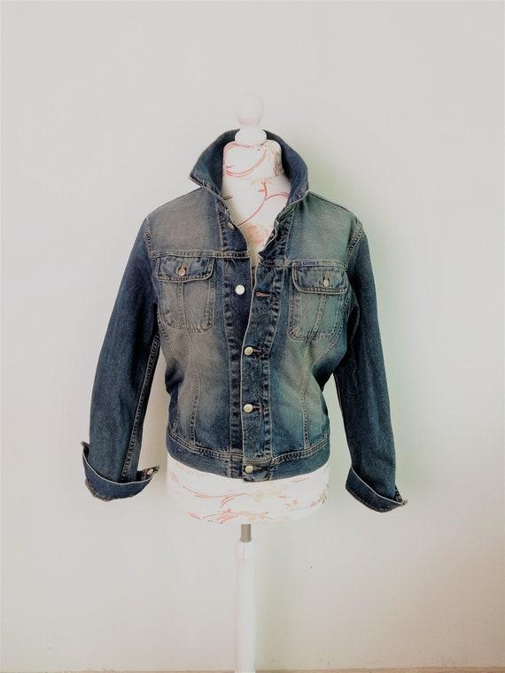 Diesel Denim Jacket / Diesel Jeans Short Fitted Ja