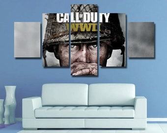 Wall Art Call Of Duty Etsy