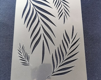 Fern Palm Leaves Stencil Scrapbooking Cardmaking Airbrush Painting Home Decor #2