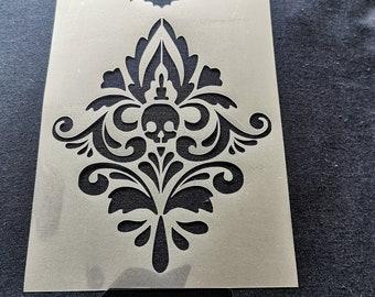 222 Stencil Shabby Chic FRENCH VINTAGE furniture ART DECOR 125 micron MYLAR A5
