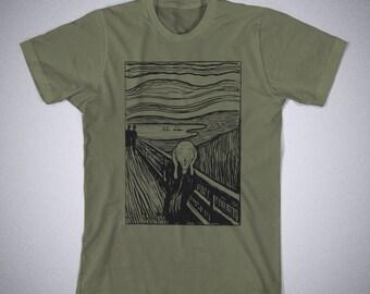 Scream Edvard Munch Funny Kids T-Shirt 100/% Cotton Toddler T-Shirt Toddler Tee Kid Tee Kid/'s Birthday Kid T Shirt