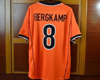 74253bd2693 Netherlands bergkamp soccer jersey vintage fooball classic shirt old  football shirts retro soccer vintage shirt