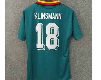 Germany 1994 klinsmann world cup soccer jersey vintage fooball classic shirt  old football shirts retro soccer vintage germany 6f98fb05c