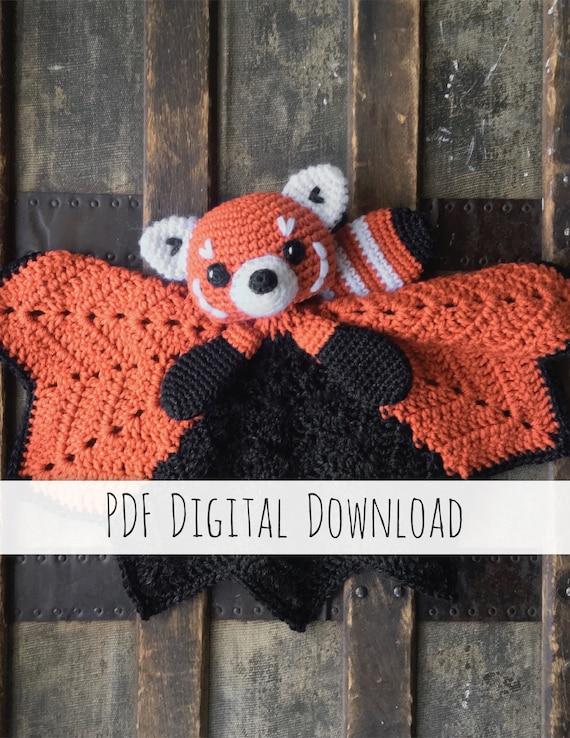 Rudy red panda amigurumi pattern by Sundot Attack | Amigurumi ... | 738x570