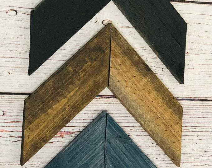 Denim Barn Wooden Chevron Arrows-Set of 3
