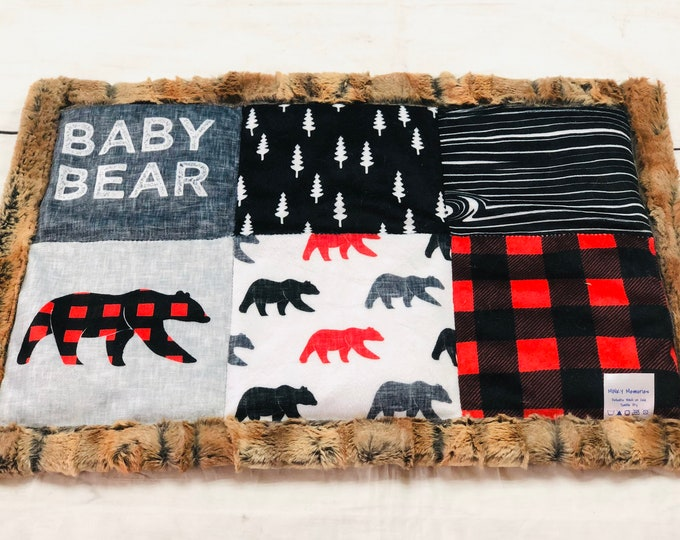 Baby Bear Weighted Lap Pads