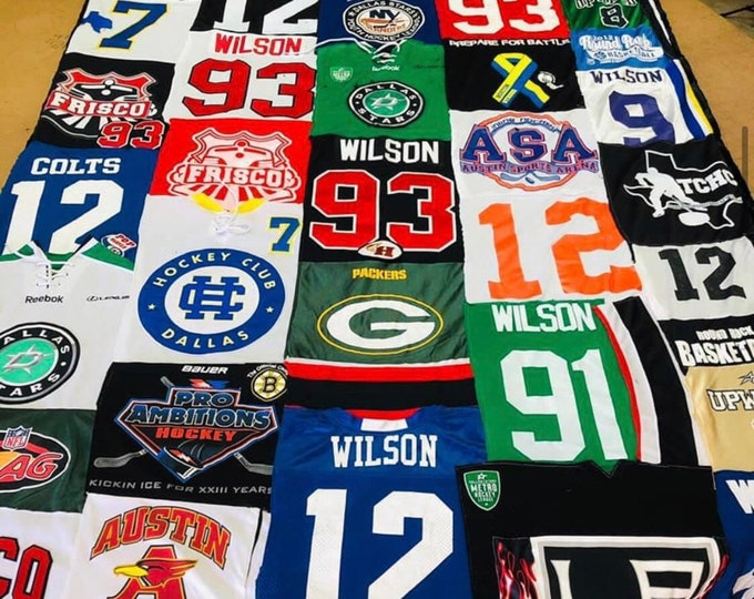 T Shirt or Jersey Quilts