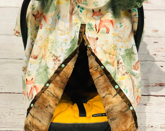 Woodland Car Seat Canopy