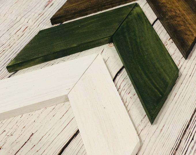 Pine & Snow Wooden Chevron Arrows-Set of 3