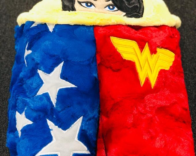 Heroine Minky Hooded Blankets
