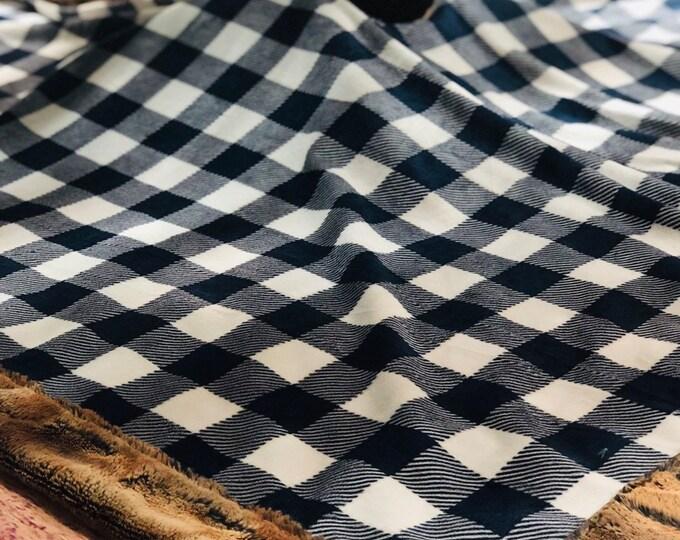 Plaid Modern Tree Skirt (Squared)