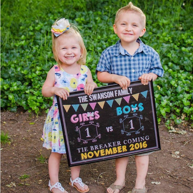 Our Family is Growing by TWO Little Feet Pregnancy Announcement Chalkboard Sign \u2013 Pregnancy Reveal \u2013 Photo Prop \u2013 Printable \u2013 Baby Reveal