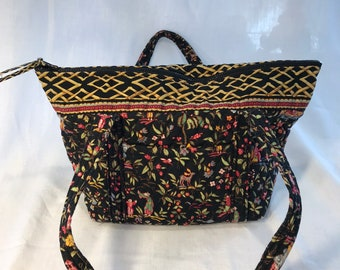 2c3be3825b4a Vera Bradley Ming Retired Pattern Shoulder bag purse Rare combination