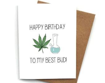 Best Bud Fun /& Flirty Card