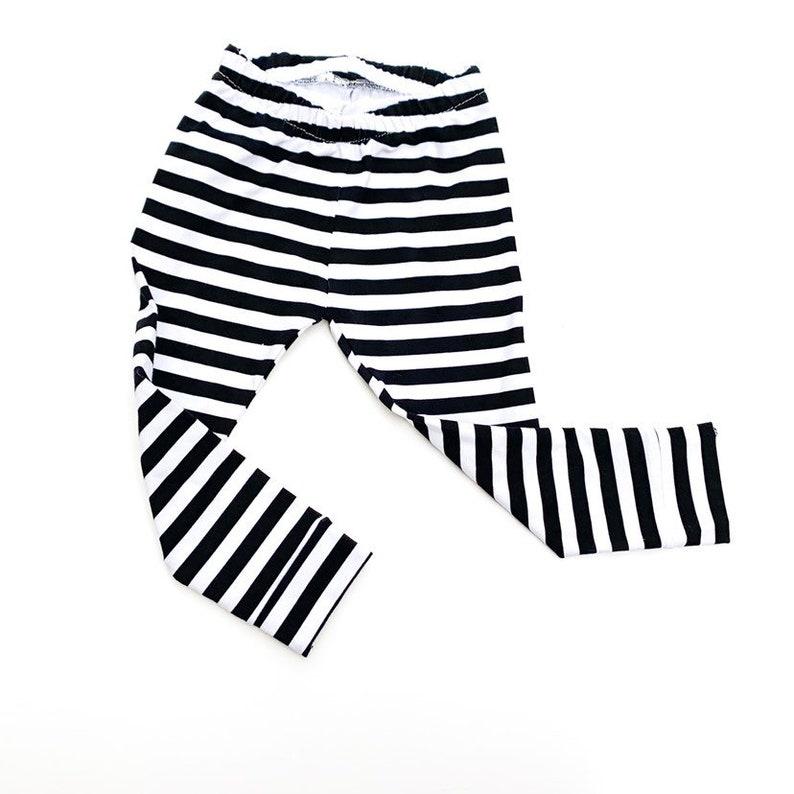 Halloween ghost Halloween black and white stripe leggings skeleton toddler leggings halloween leggings stripe baby leggings