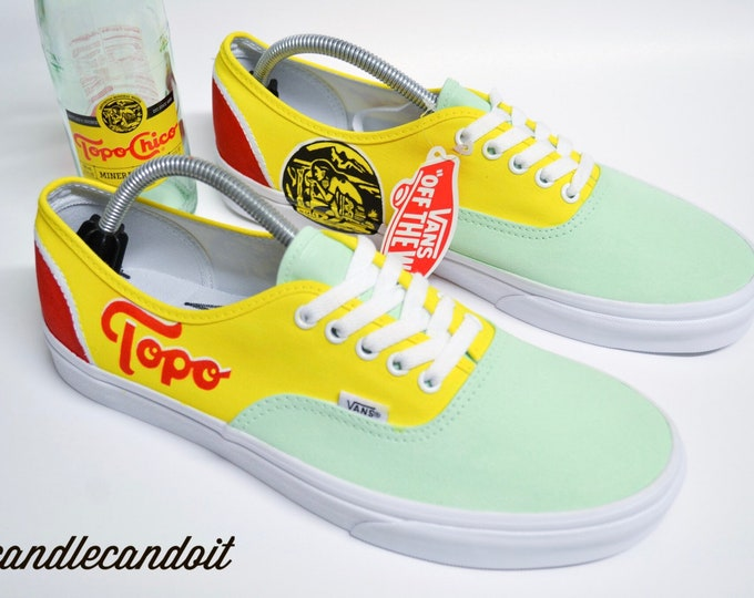 Topo Chico Authentic Vans