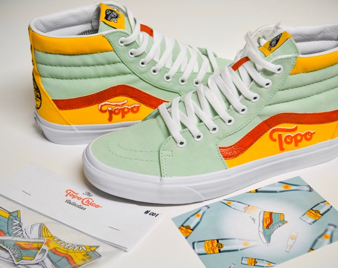 Topo Chico Vans SK8His Collectors Bundle