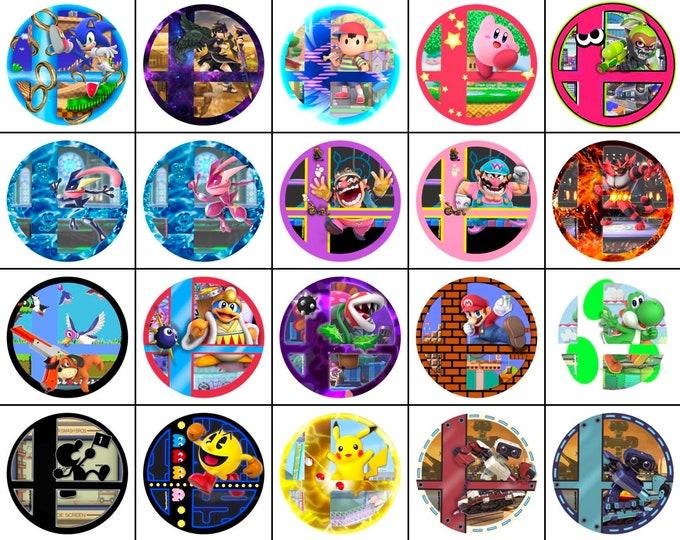 Smashball Stickers (Read Description Please)