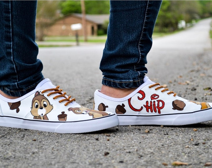 Chip & Dale Chipmunk Vans Authentic