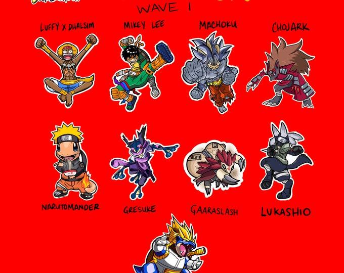 AnimeMon Stickers Wave 1
