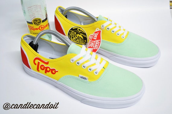 Topo Chico Authentic Vans