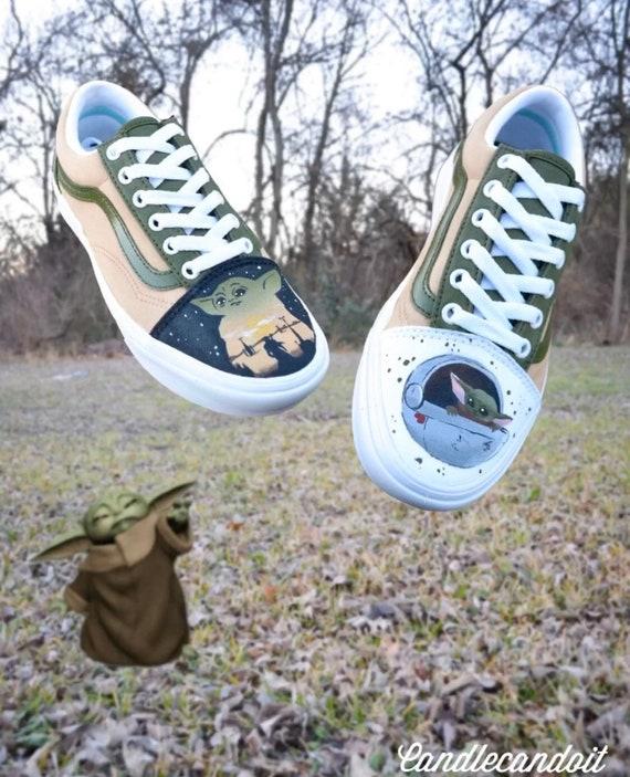 Baby Yoda Vans Authentic
