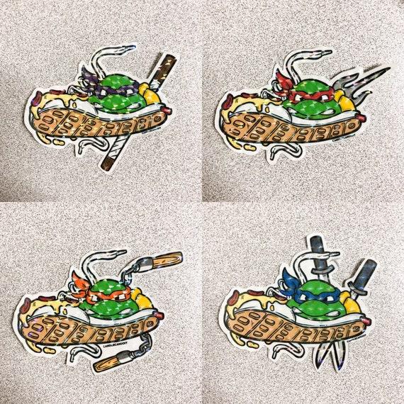 Turtle Power Stickers