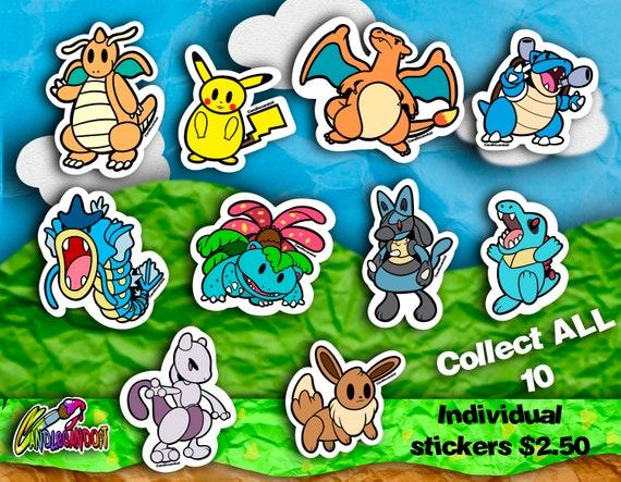 Paper Pokémon Sticker