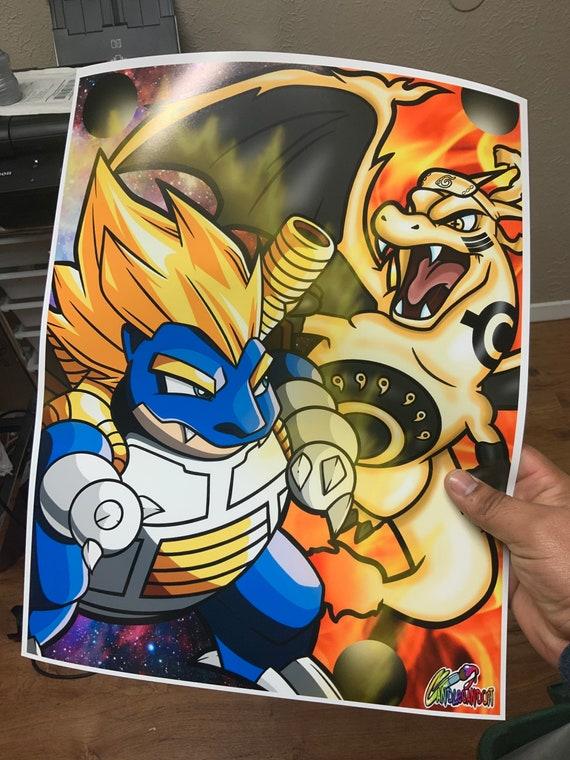 Charuto VS Vegetoise Poster