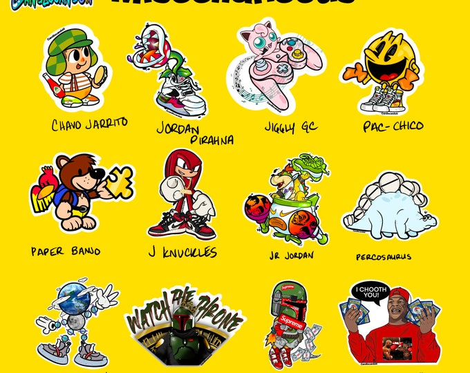 Miscellaneous Stickers
