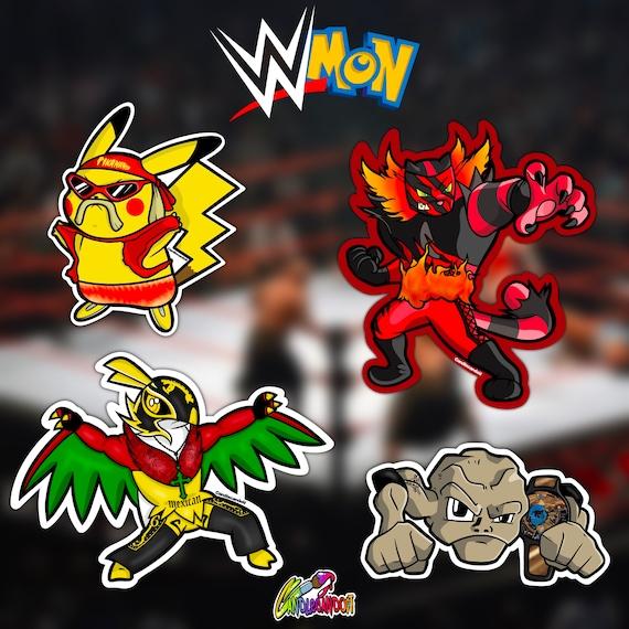 WWEMon Stickers