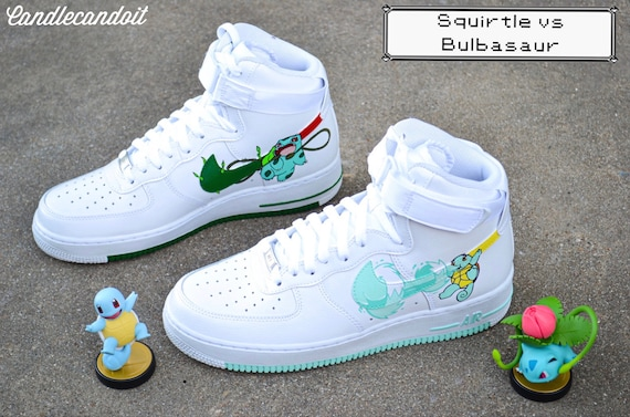 Custom Pokémon Nike Air Force Hi Tops