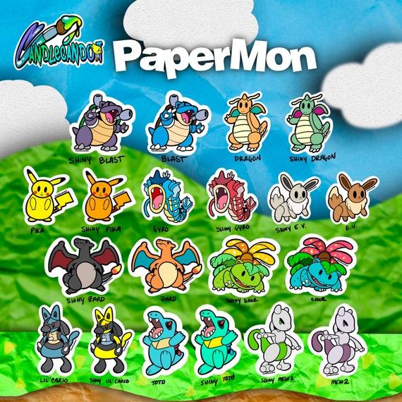 Papermon Stickers