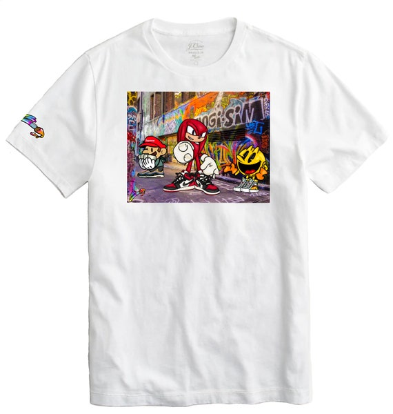 Gaming Friends Graffiti Collection Tee