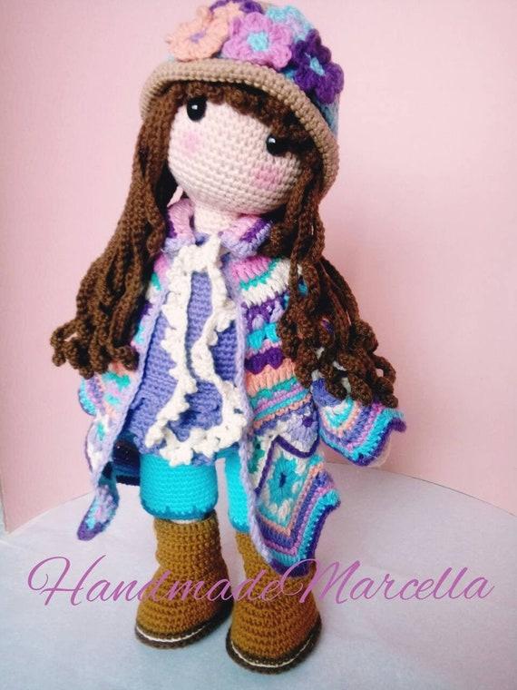 Amigurumi male doll. | Muñeca amigurumi, Patrones muñecas ... | 760x570