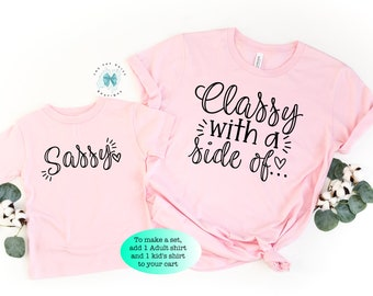 Sassy Like Mommy Cute Attitude Personality Infant Toddler T Shirt